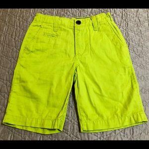 Gap Kids Little Boys fluorescent Green Shorts